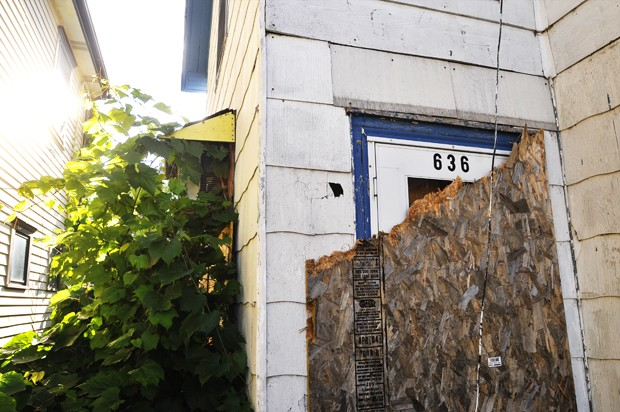 The 110 year old house on Ontario street is to be demolished, despite appeals from its owner
