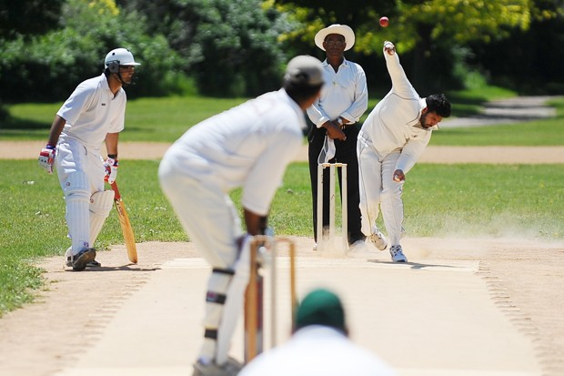 A Minnesota Cricket Association match is played on Sunday June 20th at Bryn Mawr Park.