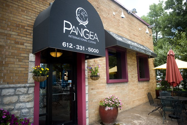 Casablanca restaurant inside the profile center recently changed their name and logo to Pangea.
