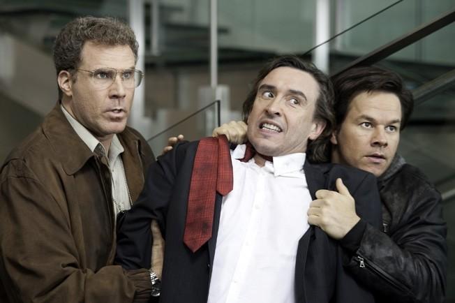 Gamble (Ferrell) and Hoitz (Wahlberg) arresting David Ershon (Coogan)