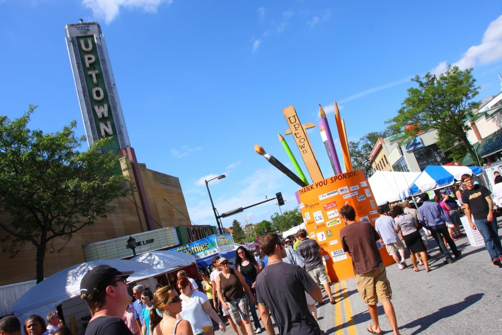 The Uptown Art Fair attracts over 300,000 attendees each year.