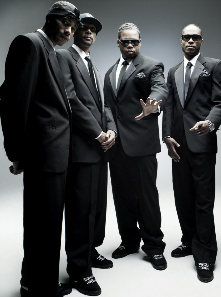 Matching suit harmony for Bone Thugs.