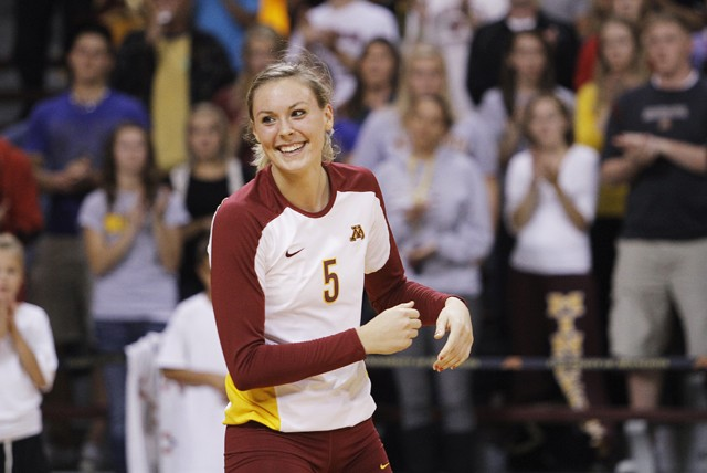 Gophers playing without senior star Gibbemeyer