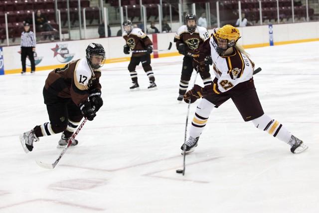 Womens hockey sweeps Clarkson
