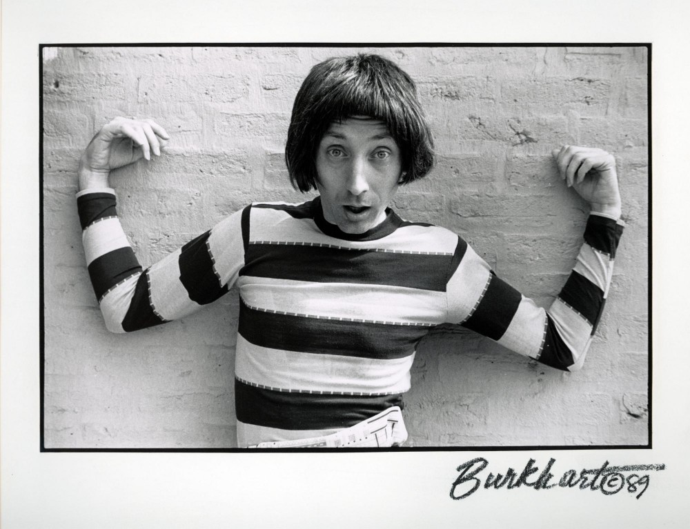 Emo Philips early on in his career