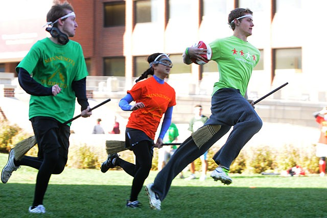 Quidditch: now for muggles