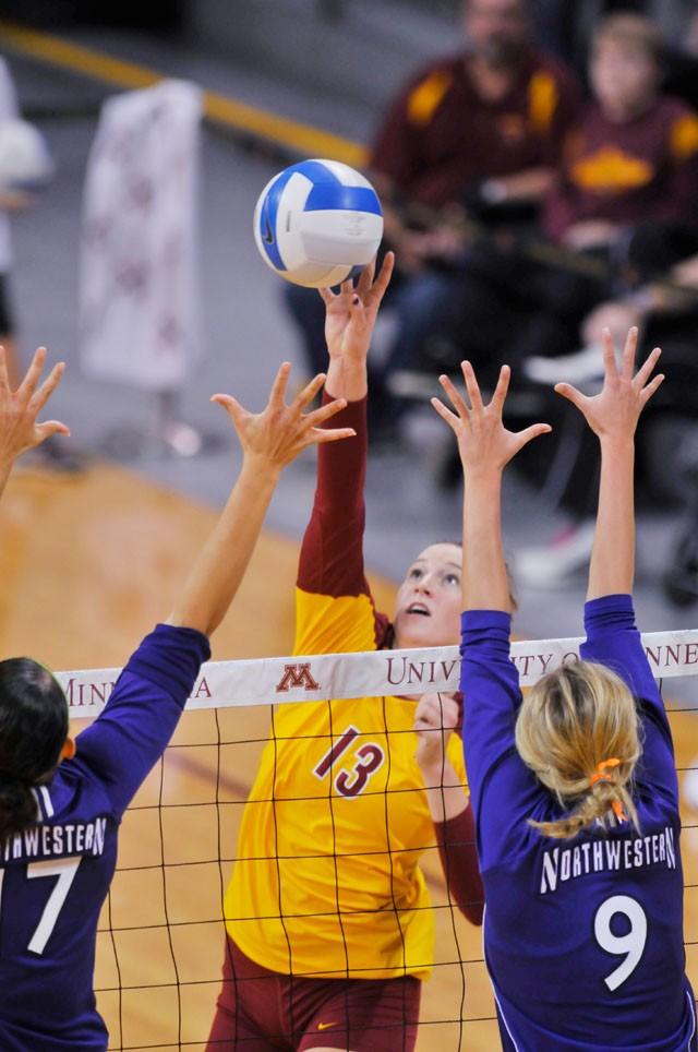 Gophers get needed win against Northwestern