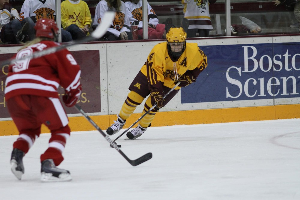Offense up and down, but Gophers still complete sweep