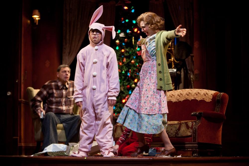 Ralphie Dons his iconic Christmas peejays.
