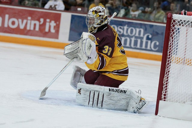 For Gophers men's hockey, road is where the heart is