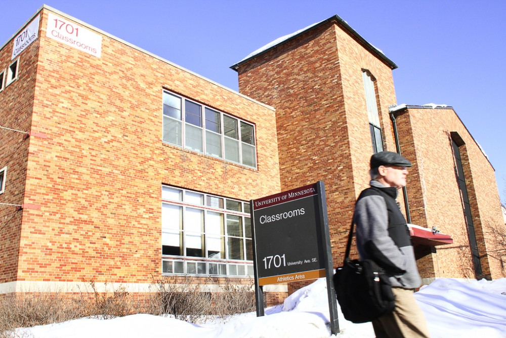 The University of Minnesota has plans to build a new residence hall on the current site of the 1701 Classroom building.