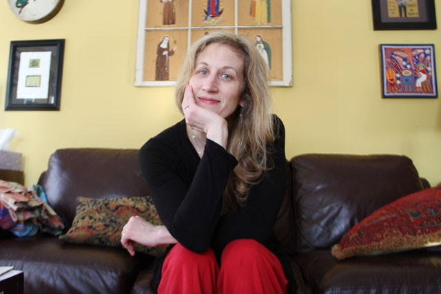 Poet and University of Minnesota English Instructor Sarah Fox sits Sunday in her Minneapolis home. She will be attending the Association of Writers & Writers Programs Conference which runs from Feb. 2-5 in Washington D.C.