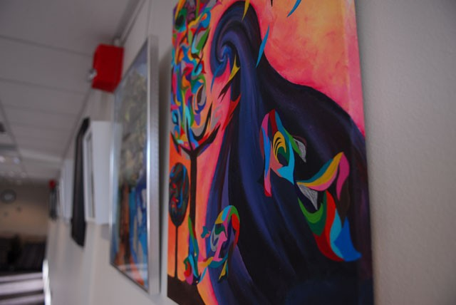 Art improves students' mental health