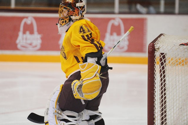 Stay for the goalies; two of WCHA's best on display