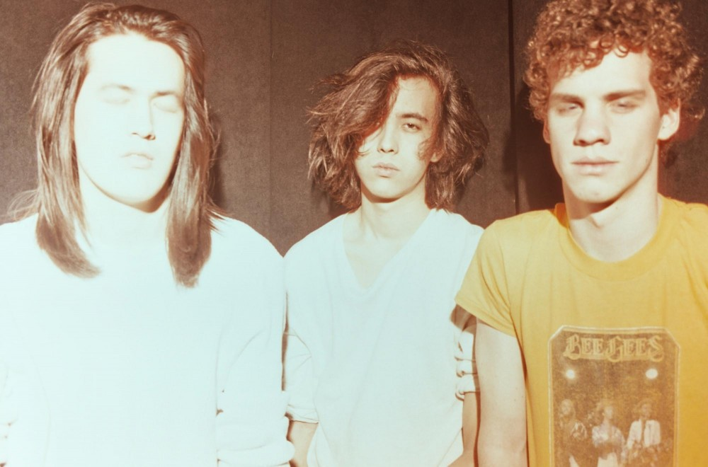 Frontman Cullen Omori, center, will lead the group to the Triple Rock on Thursday.
