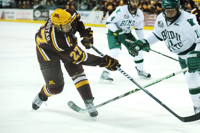 Nearly unbeatable at home in playoffs, Minnesota hosts Anchorage