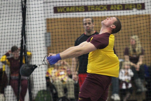 Men have deep group of throwers for outdoor season