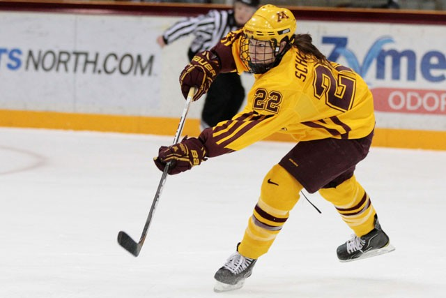 Down to 4, Minn. after WCHA crown