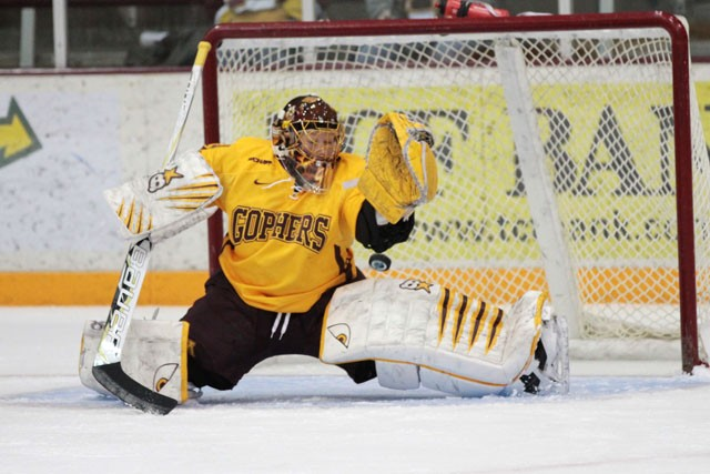 In second year with Minnesota, Raty is All-American for second time