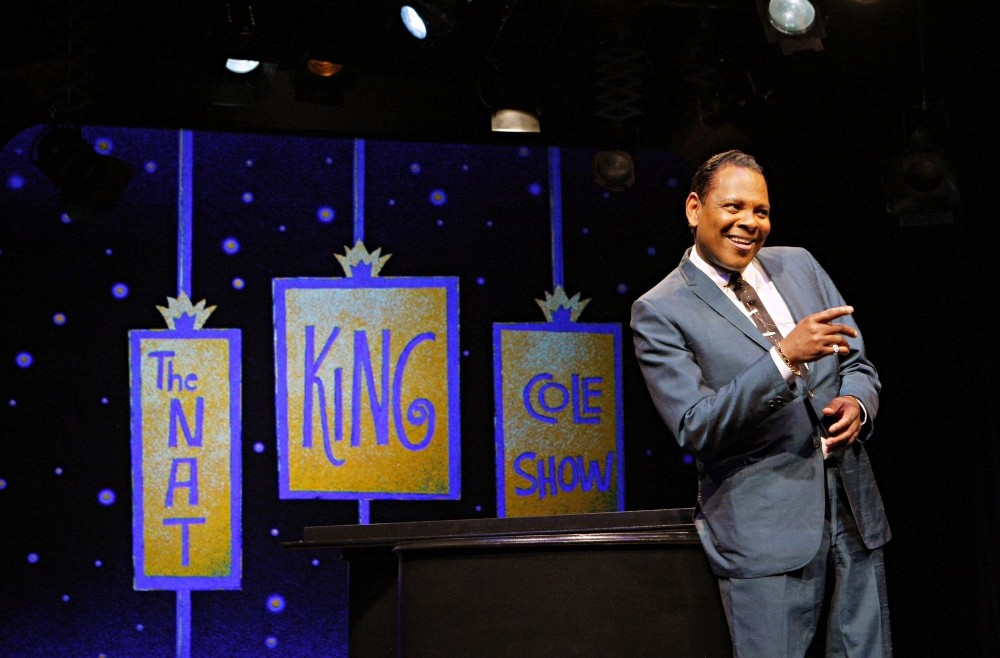 Dennis W. Spears plays Nat King Cole in