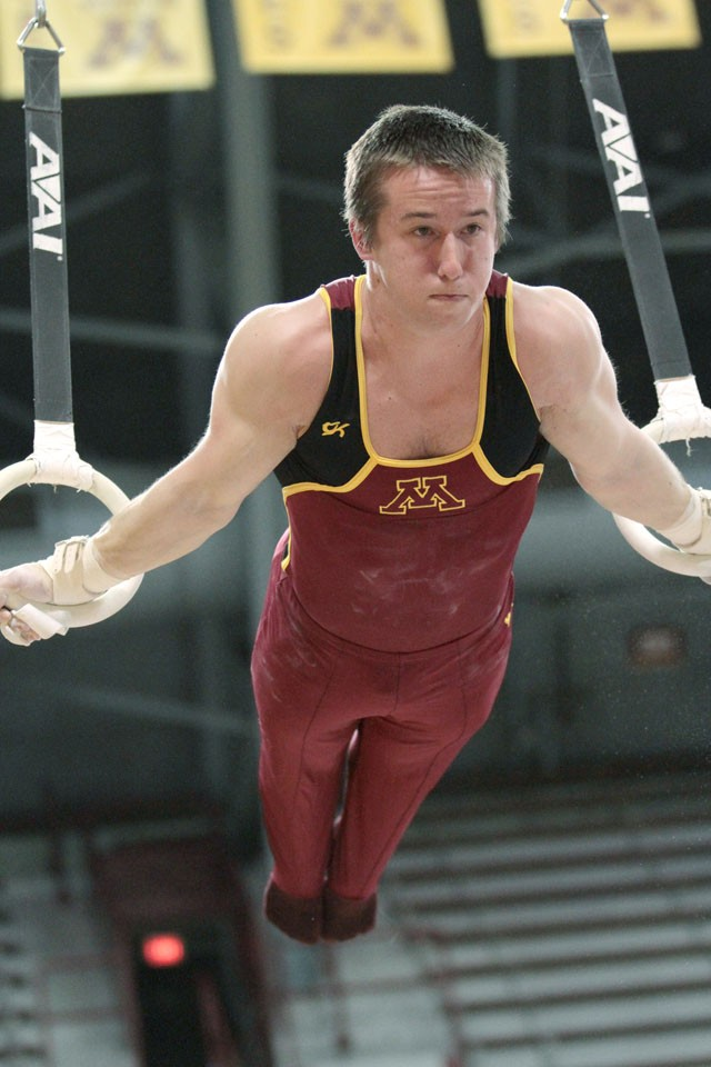 On vault, Chase is first-team All-Big 10