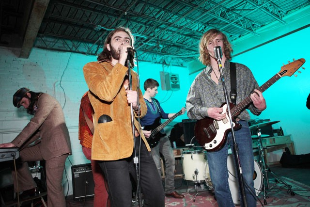 The Flying Dorrito Brothers play at Nick and Eddies in Loring Park Saturday night.