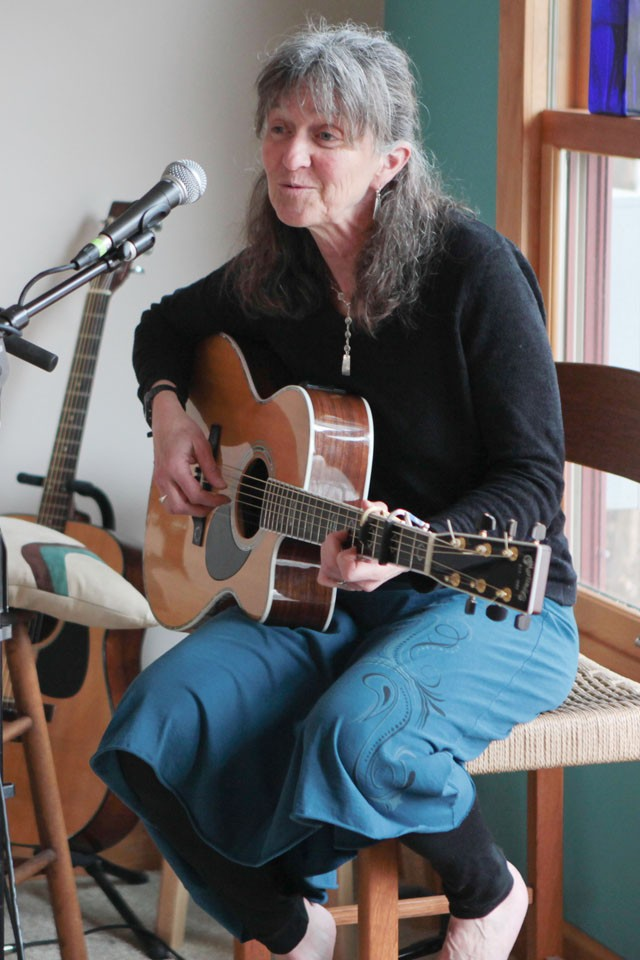 Trish Painter's first cd was of songs she wrote inspired by her dog and this second cd includes songs inspired from various moments in her life.
