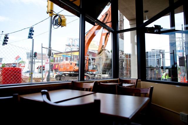 Central Corridor construction hits local businesses hard in the University area. Businesses are looking for Marketing campaigns, grants and local non-profits for support.