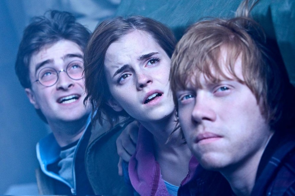 Harry, Ron and Hermione have the end in sight.