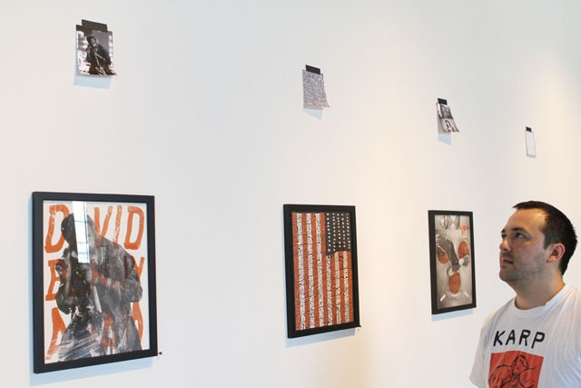 """Wes Winship of Co Exhibitions explains the ideas behind, """"Trust me!"""" which is on display through August 6th."""