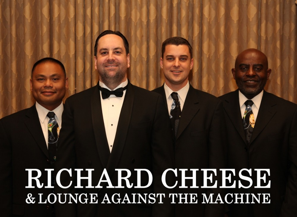 Richard Cheese and Lounge Against the Machine will headline the Varsity Theater tonight.