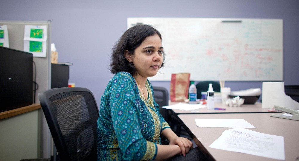 Computer Science graduate student Jaya Kawale won a prestigious national award, the Explorations in Science Through Computation Student Award. Kawale will be receiving the award in Seattle on November 15.
