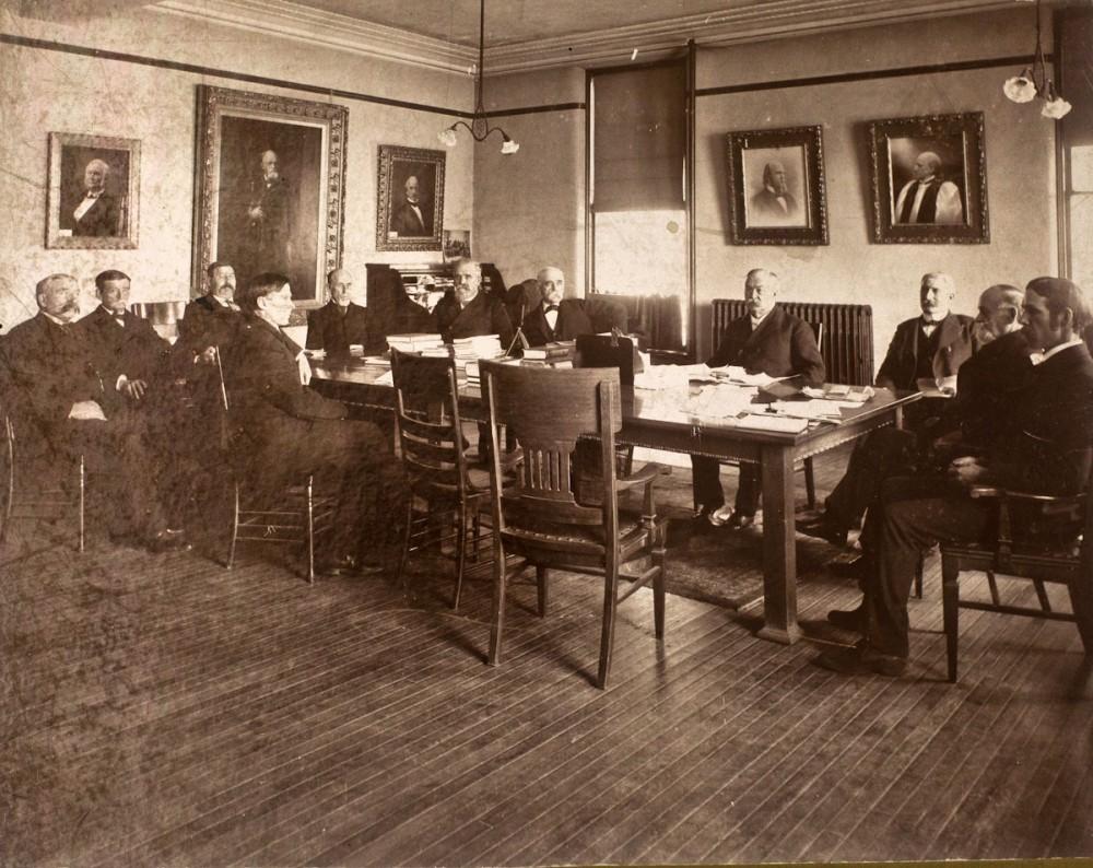 An XX Board of Regents meeting with John Pillsbury,