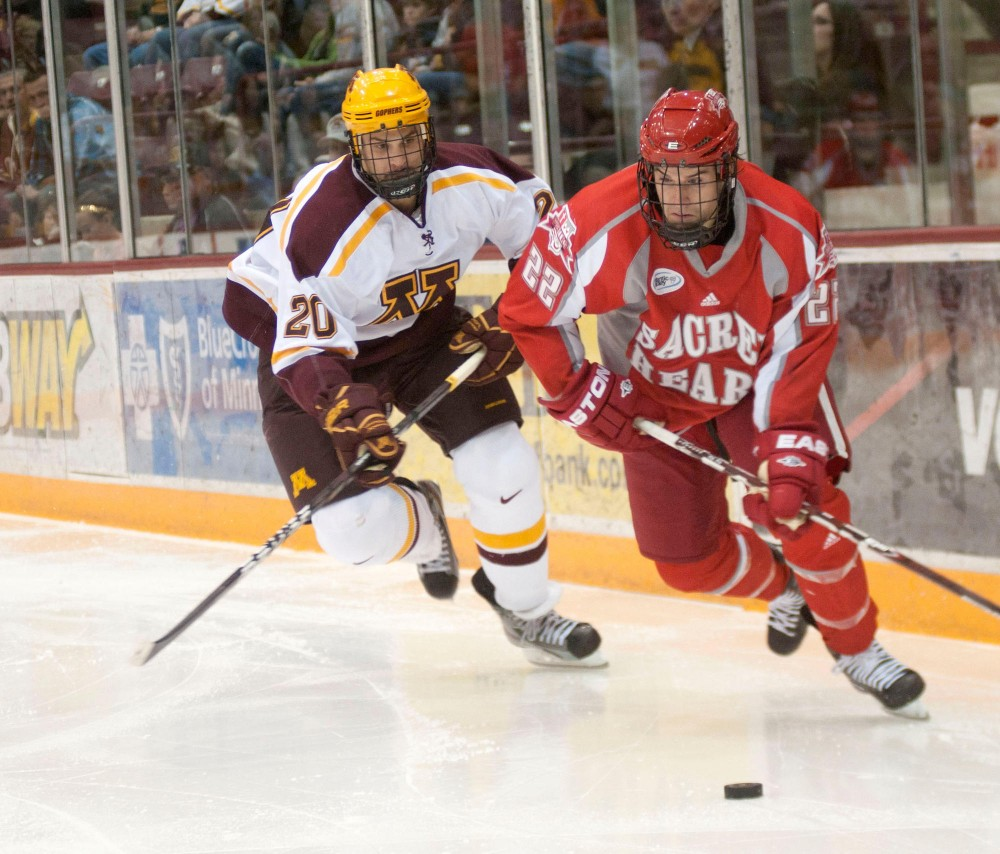 Gophers set to take on defending NCAA champion Minnesota-Duluth
