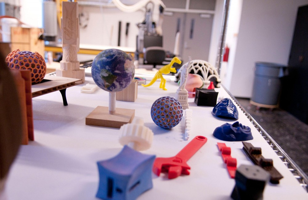 Architecture students are now able to print 3D objects thanks to $50,000 worth of 3D printer equipment that were donated by the Eden Prairie tech firm Stratasys to the University's College of Design.