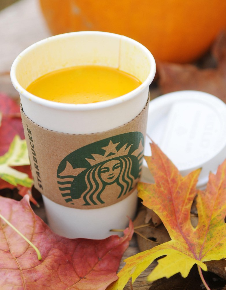 You can find a Pumpkin Spice Latte at Starbucks for $3.45.