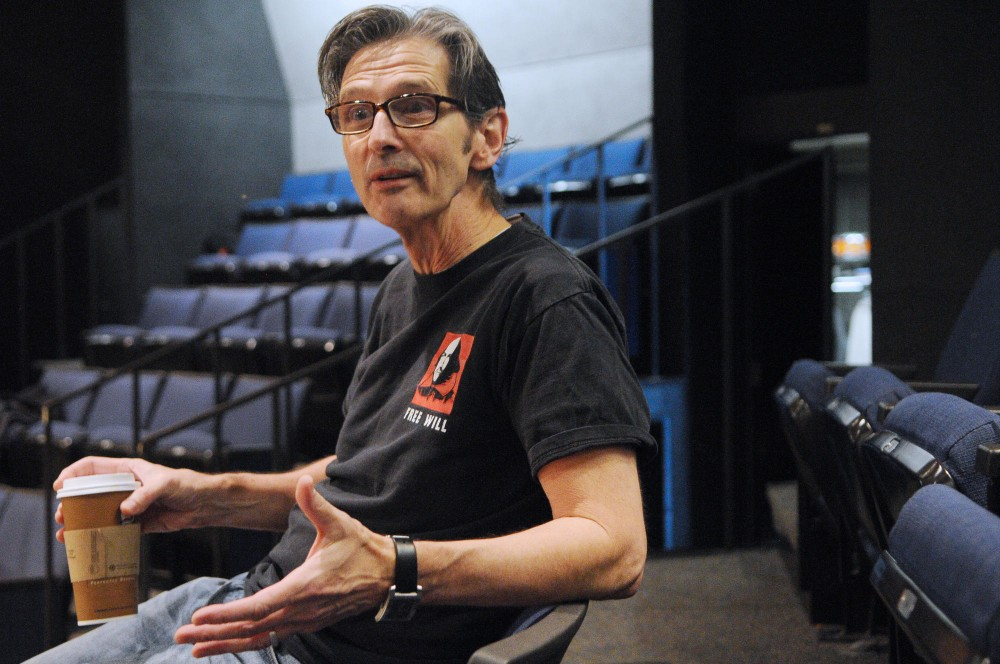 Crucible director Bruce Roach talks about his upcoming production Saturday at Rarig Center.