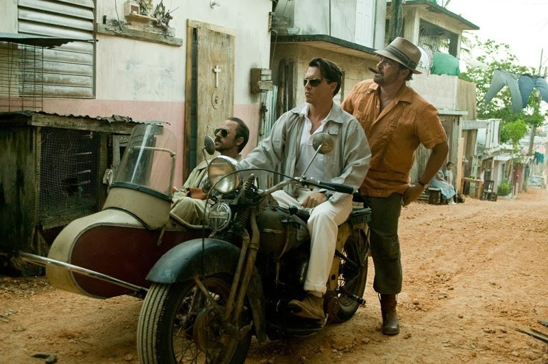 """Starring Johnny Depp, Aaron Eckhart and Michael Rispoli star in """"The Rum Diary"""" which opens in theaters Friday."""
