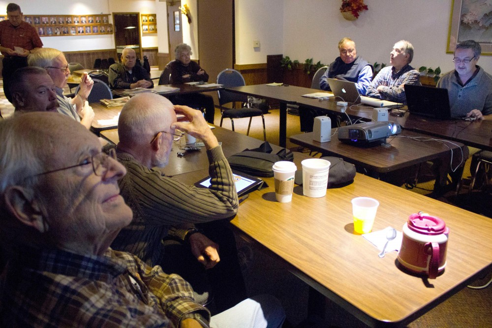 The Minnesota Futurists meet Saturday morning in the Knights of Columbus building in Bloomington, Minnesota. They meet every Saturday to discuss the future of various topics as well as sharing articles and information pertaining new technology.