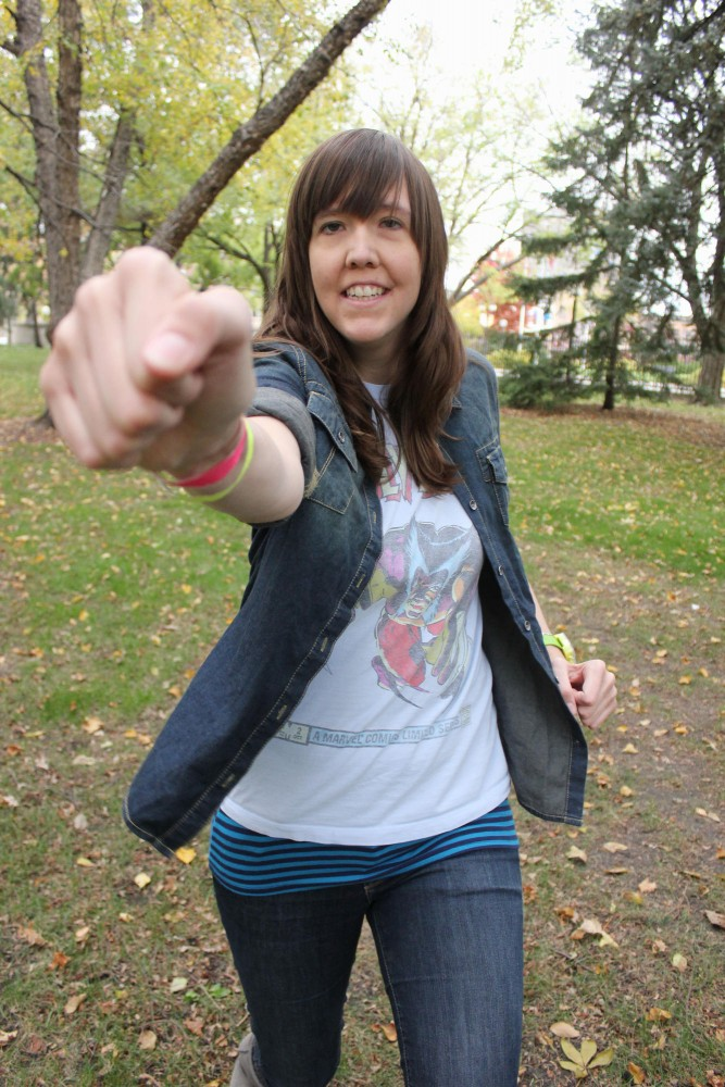 University of Minnesota alumna Andy Erikson has made a name for herself in the local comedy scene. She will be performing at the Corner Bar