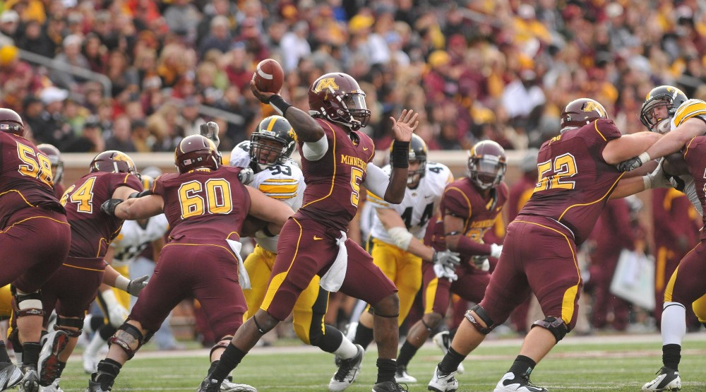 Minnesota hits the road, will do battle with stingy Mich. St. defense