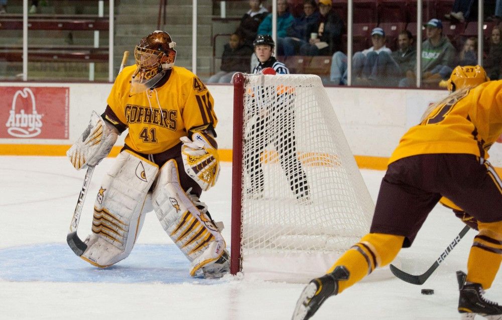 Players back from Sweden, No. 2 Gophers host UNH