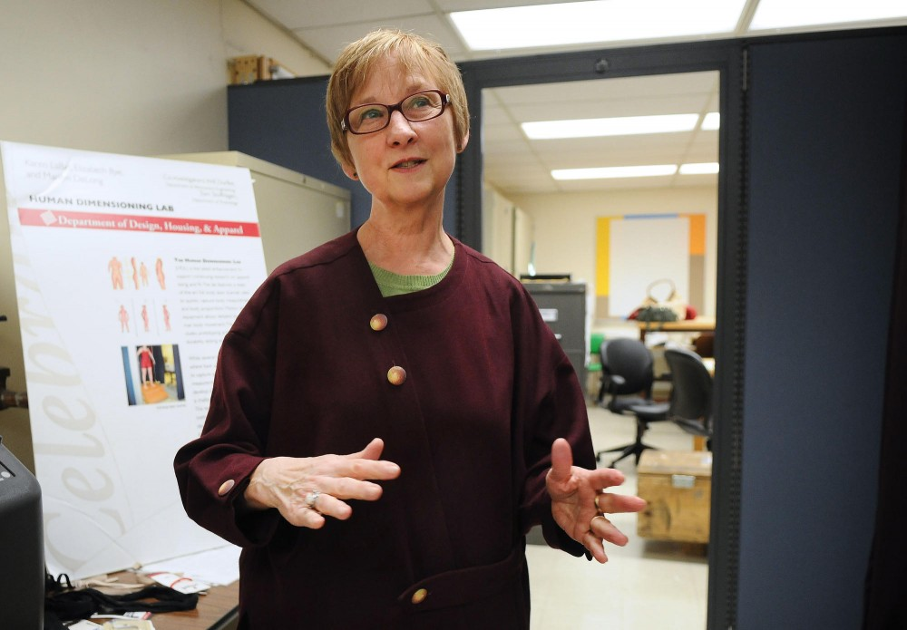 Dr. Karen LaBat is the head researcher at the Human Dimensioning Lab and Product Design Center. LaBat, a breast cancer survivor, is currently working on a study to help other survivors of breast cancer to better understand their bodies.