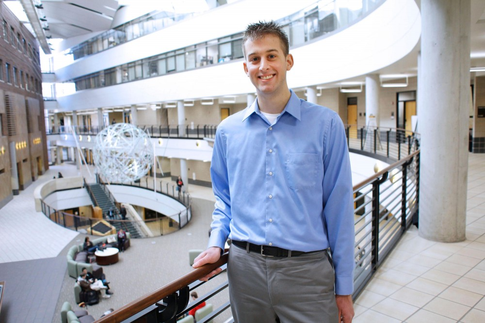 Senior Tom Paluta is graduating this May with an MBA from the Carlson School of Management and has a job lined up at Dish Network. Bloomberg Businessweek ranked Carlson as number one in the country to job placement for 2011 MBA graduates.