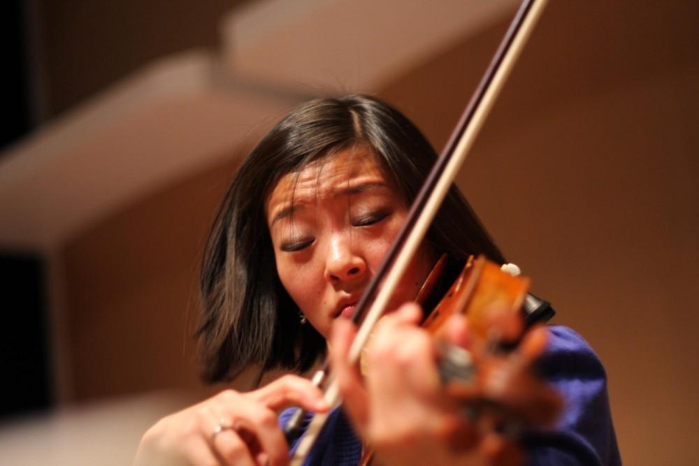 Karen Kim of the Parker Quartet.