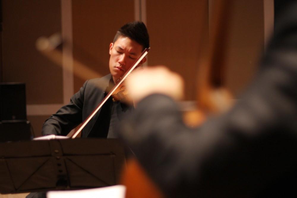 Daniel Chong of the Parker Quartet.