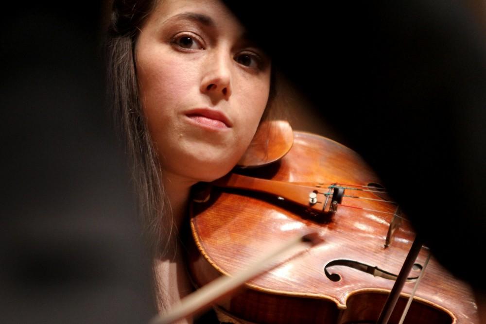 Jessica Bodner of the Parker Quartet.