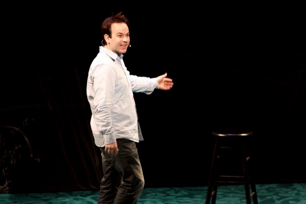 Mike Birbiglia performed his one man show titled
