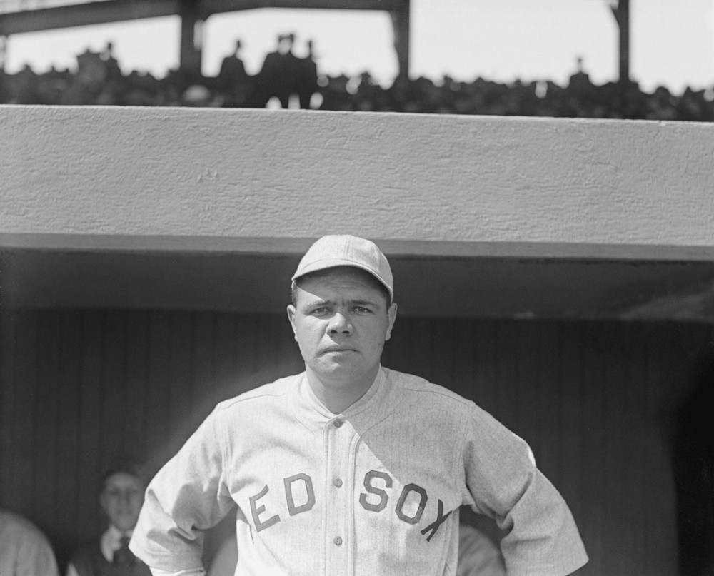 Photographer unknown; Babe Ruth; 1919; 8 1/2 x 11 in; Library of Congress Prints & Photographs Division; LC-DIG-npcc-00316