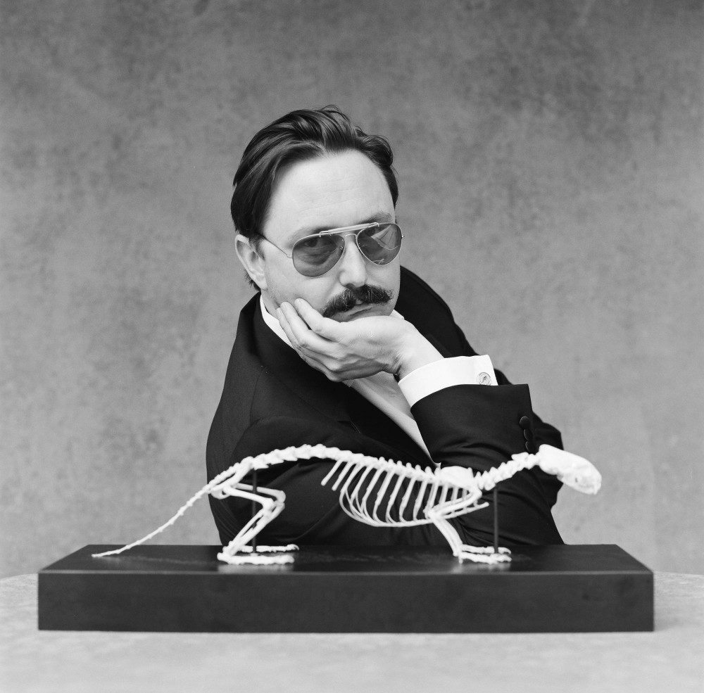 After achieving fame as a television personality, writer and actor John Hodgman reinvented himself as a deranged millionaire. He'll bring his message of doom to the Varsity tonight.